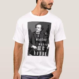 Camiseta Mahler faz-me feliz