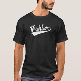 Camiseta Mahler, retro,