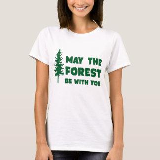 Camiseta Maio a floresta seja com você