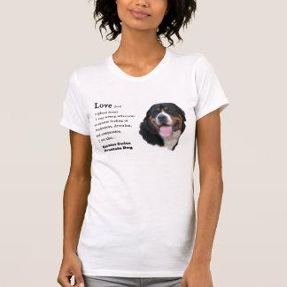 Camiseta Maiores presentes suíços do cão da montanha