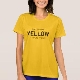 Camiseta MAIS AMARELO do que você todas as cores