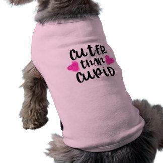 Camiseta Mais bonito do que o Cupido