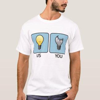 Camiseta Mais brilhante do que você