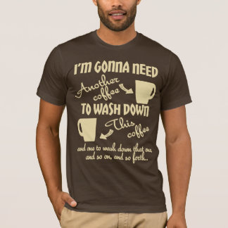 Camiseta Mais café por favor