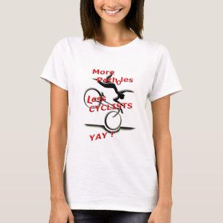 Camiseta mais caldeirões menos ciclistas (yay)