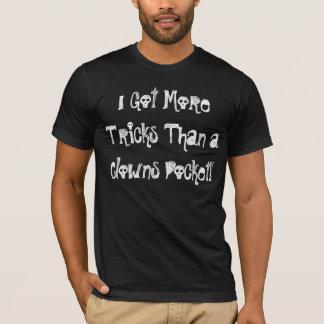 Camiseta Mais engana do que um bolso dos palhaços