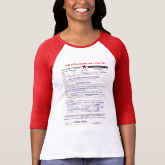 Camiseta Mais engraçado do que o grifo de Kathy