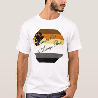 """Camiseta """"Mais esperto do que orgulho do urso de GLBT do"""
