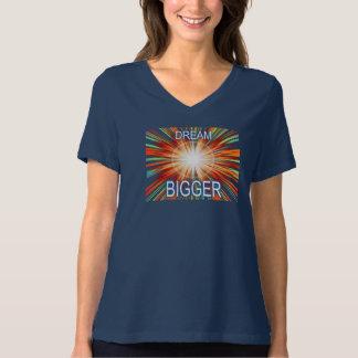 Camiseta Mais grande ideal
