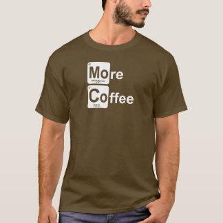 Camiseta Mais mesa periódica do café