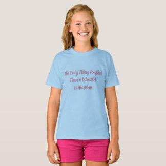 """Camiseta """"Mais resistente do que um lutador """""""