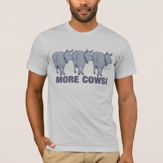 Camiseta Mais vacas!