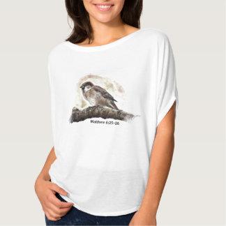 Camiseta Mais valioso do que um pardal