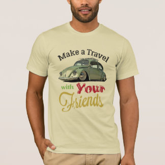 Camiseta Make a Travel With Your frinds