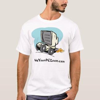 Camiseta MakeYourPCZoom.com