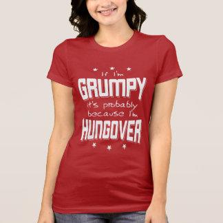 Camiseta MAL-HUMORADO porque HUNGOVER (branco)