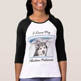 Camiseta Malamute do Alasca