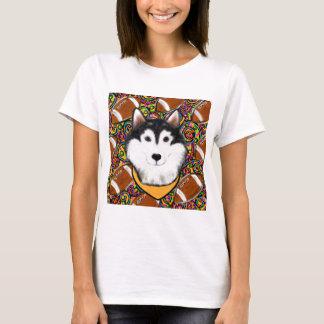 Camiseta Malamute do Alasca do dia dos pais