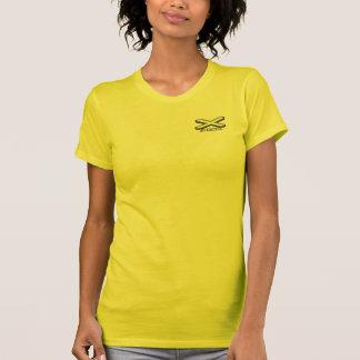Camiseta MALHA: Senhoras todo o T dos esportes