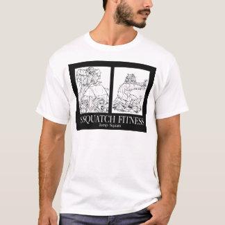 Camiseta Malhação de Sasquatch: Salte ocupas