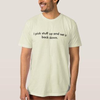 Camiseta Malhação literal: Eu pegaro o material…