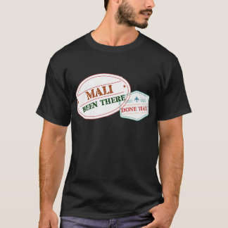 Camiseta Mali feito lá isso