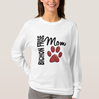 Camiseta Mamã 2 de Bichon Frise