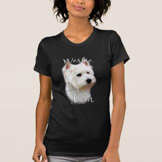 Camiseta Mamã 2 de Terrier branco de montanhas ocidentais