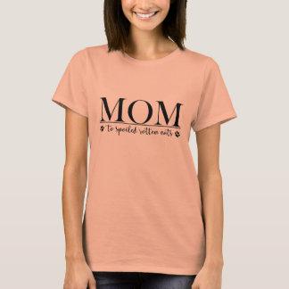 Camiseta Mamã aos gatos podres estragados