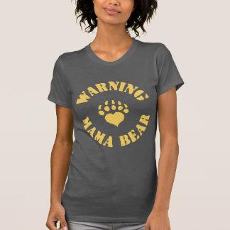 Camiseta Mama Carregamento Aviso
