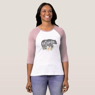 Camiseta Mama Carregamento Camisa, presente do dia das mães
