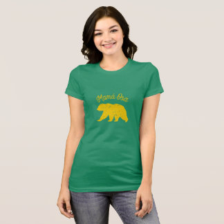 Camiseta Mama Carregamento, ouro de Mamá Osa