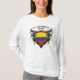 Camiseta Mamã colombiana do número um