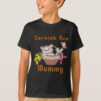 Camiseta Mamã Cornish do gato de Rex