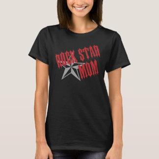 Camiseta Mamã da estrela do rock