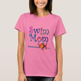 Camiseta Mamã da natação