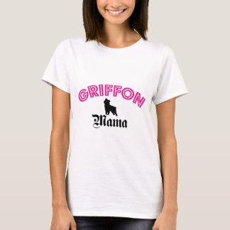 Camiseta Mama de Bruxelas Griffon