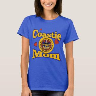 Camiseta Mamã de Coastie - nadador do salvamento