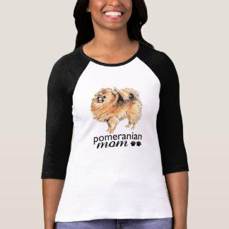 Camiseta Mamã de Pomeranian