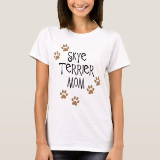 Camiseta Mamã de Skye Terrier