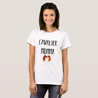 Camiseta Mamã descuidado do Spaniel de rei Charles