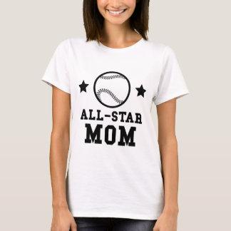 Camiseta Mamã do basebol de All Star