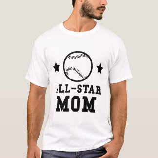 Camiseta Mamã do basebol de All Star