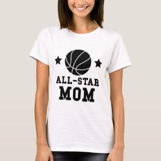 Camiseta Mamã do basquetebol de All Star
