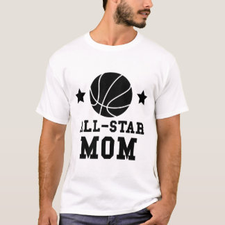 Camiseta Mamã do basquetebol de All Star