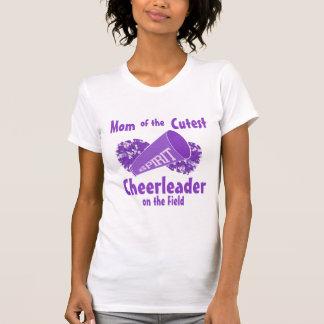 Camiseta Mamã do cheerleader