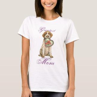 Camiseta Mamã do coração de Griffon