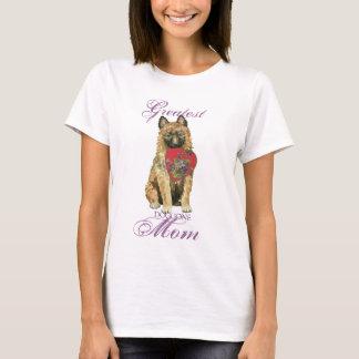 Camiseta Mamã do coração de Laekenois