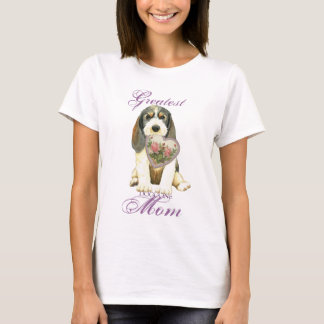Camiseta Mamã do coração de PBGV
