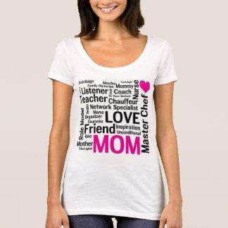 Camiseta Mamã do cozinheiro chefe mestre - dia das mães ou